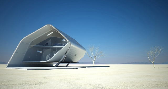 See the future: best futuristic styled houses California Roll House 03  Contact California Roll House 03