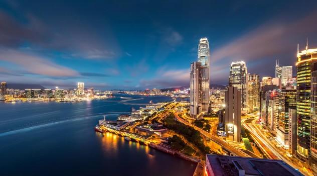 Victoria-Harbour-at-night-Hong-Kong