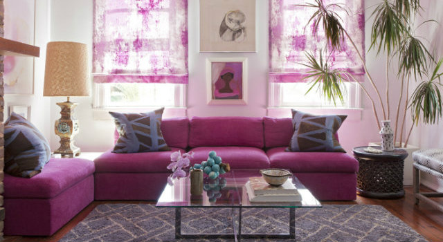 HOME radiant orchid in a room1
