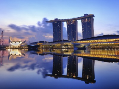 Marina Bay Sands - The most expensive building ever constructed!