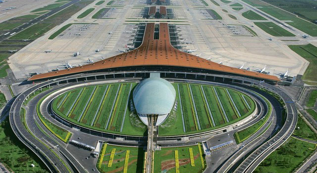 Beijing-Airport-The-World's-Largest-Airport-Building-Asian-Interior-Design