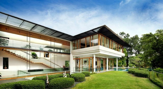 The-Spectacular-Tropical-Singapore-Bungalow-by-Guz-Architects  The Spectacular Tropical Singapore Bungalow by Guz Architects residence Dalvey Road 13 COVER