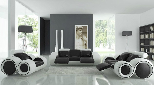 Black modern house decoration ideas sian Interior Design - ^