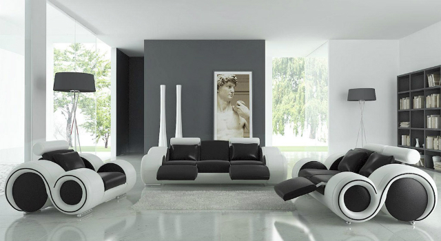 Black-modern-house-decoration-ideas-feature-