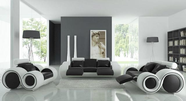 Black Modern House Decoration Ideas Asian Interior Design