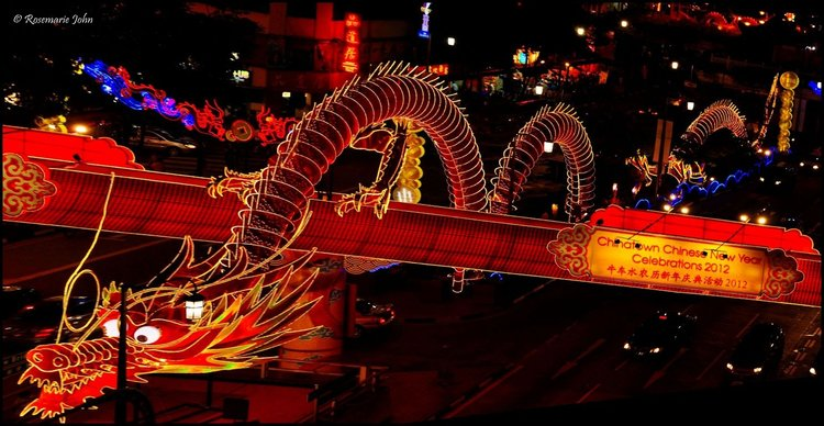 Singapore chinese new year event celebrations