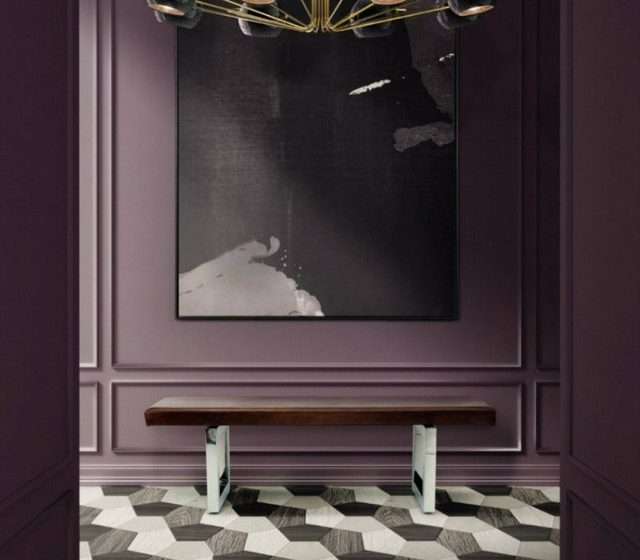 Violet Design: Some Inspirations For Your Living Room Decoration