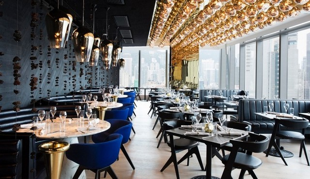 The Art Of Tom Dixon: Luxury Design In Hight Restaurant Luxury Design The Art Of Tom Dixon: Luxury Design In Hight Restaurant 1 4