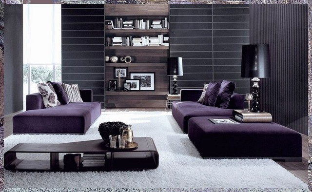 Violet Design: Some Inspirations For Your Living Room Decoration Living Room Decoration Violet Design: Some Inspirations For Your Living Room Decoration 3 1
