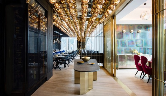 The Art Of Tom Dixon: Luxury Design In Hight Restaurant