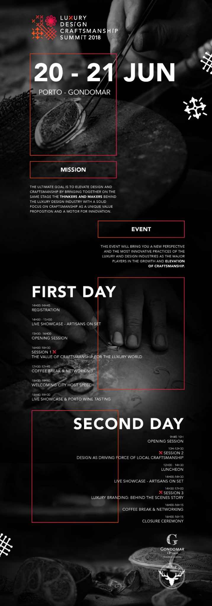 Luxury Design & Craftsmanship Summit 2018: Opportunity Of a Lifetime! luxury design Get To Know The Luxury Design & Craftsmanship Summit 2018 001 summit infographic 001