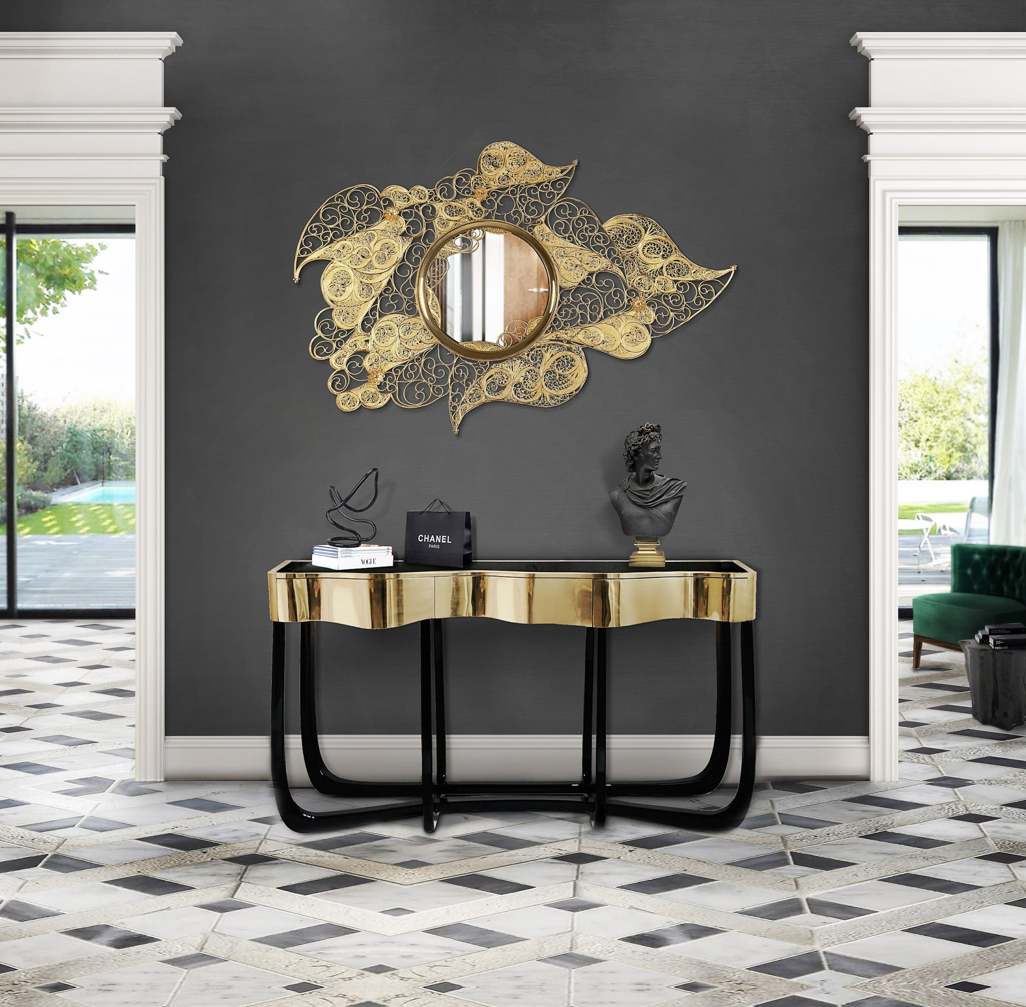 mirrors The Most Exclusive Mirrors By Boca do Lobo filigree 01 4