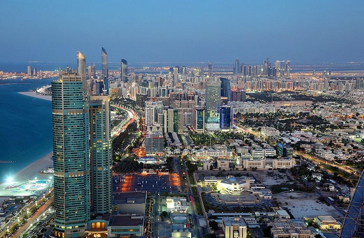 abu dhabi Top Must See Places in Abu Dhabi uae abu dhabi observation deck cityscape at dusk