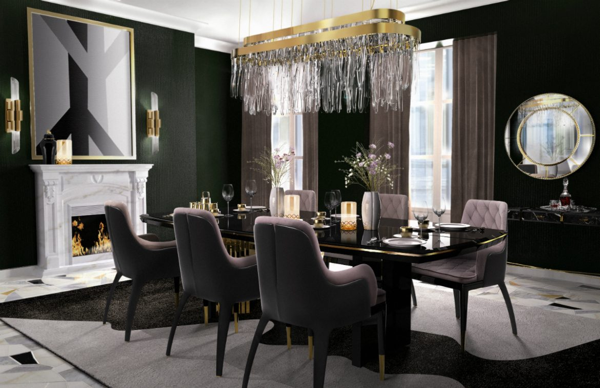 Bold Dining Room Sets for an Exclusive Home Design – Asian ...