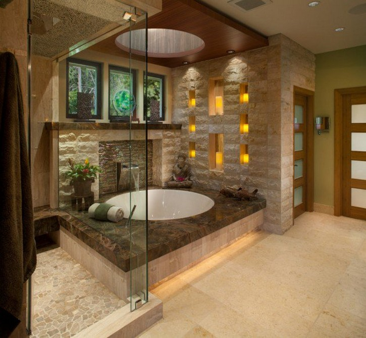 5 Unique Zen Bathrooms Inspired By Asian Modern Design asian modern design 5 Unique Zen Bathrooms Inspired By Asian Modern Design 15 Zen Inspired Asian Bathroom Designs For Inspiration 2