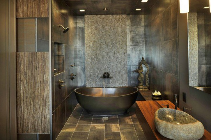 5 Unique Zen Bathrooms Inspired By Asian Modern Design asian modern design 5 Unique Zen Bathrooms Inspired By Asian Modern Design 15 Zen Inspired Asian Bathroom Designs For Inspiration 3