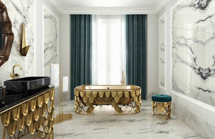 Here Are The Interior Decor Trends For 2019 interior decor trends Here Are The Interior Decor Trends For 2019 16 Colourful Bathroom Ideas to Create the Most Soothing Environment 16