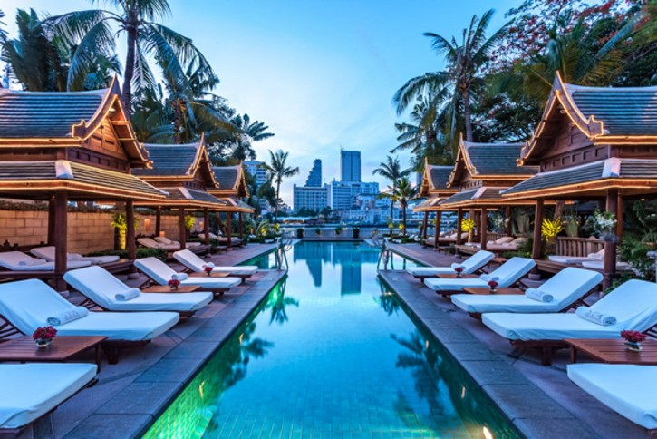 The Best Bespoke Hotels in Bangkok (Part II) [object object] The Best Bespoke Hotels in Bangkok (Part II) The Peninsula Bangkok The Pool 06