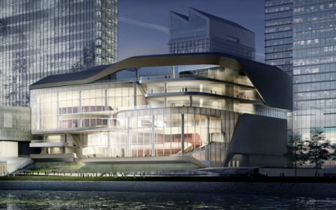Lyric Theatre The Lyric Theatre Complex is UNStudio's latest project in Hong Kong DESTAQUE 1 480x300