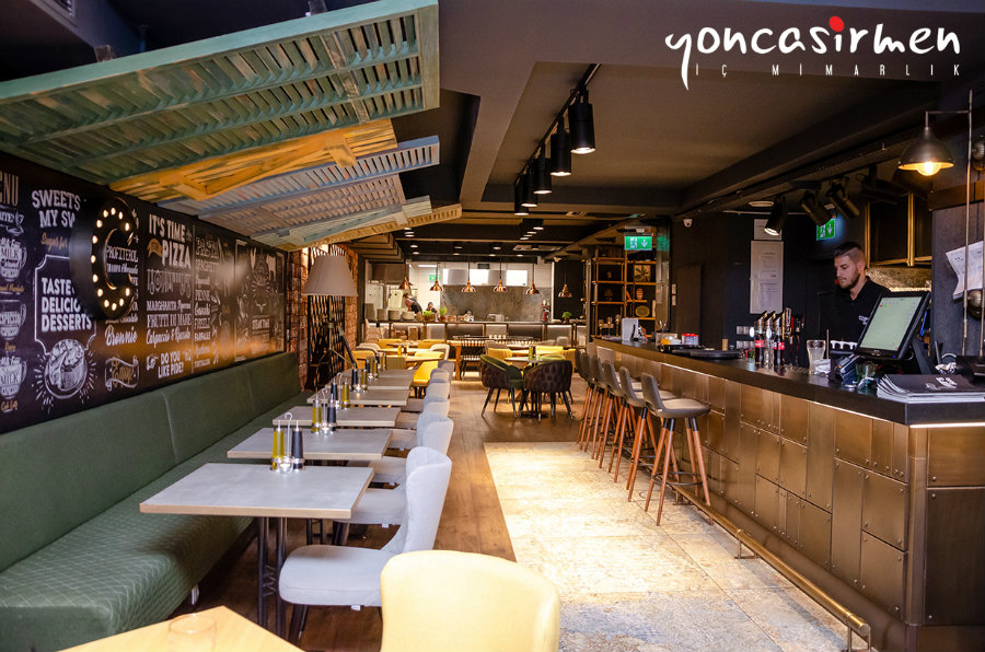 Chef's Bistro: A Design Project By Yonca Sirmen